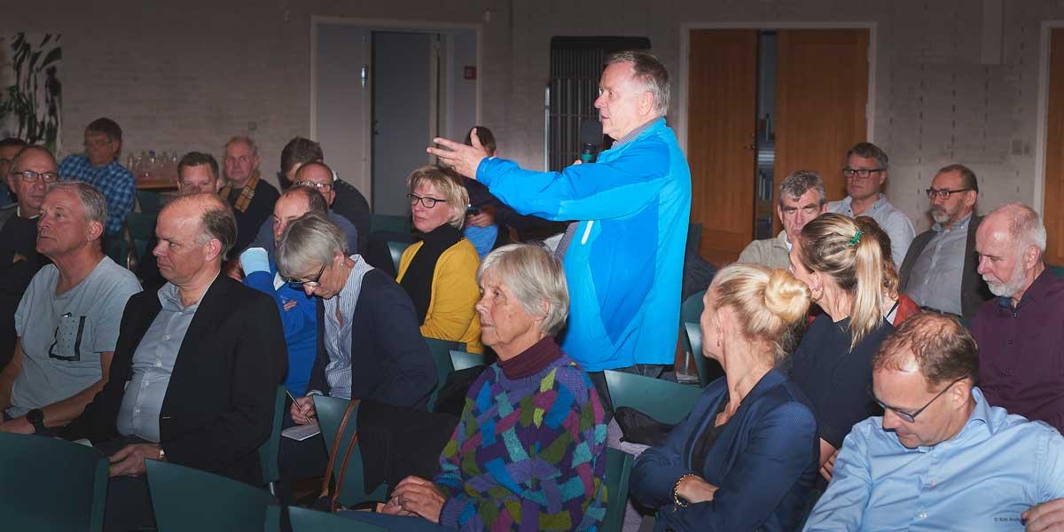 Erik Rasmussen Værløse Basket om drift af Søndersøhallen