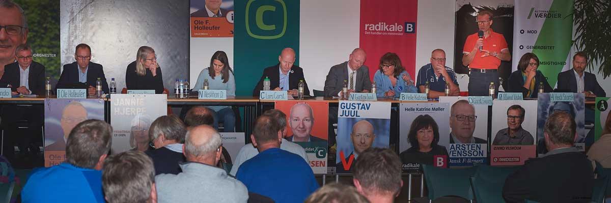 Valgmøde 2017 Øjvind Visholm (Ø) støtter idræt